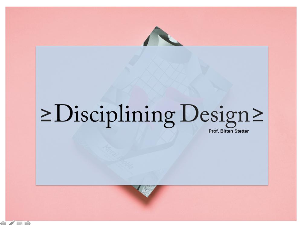 discipling Design